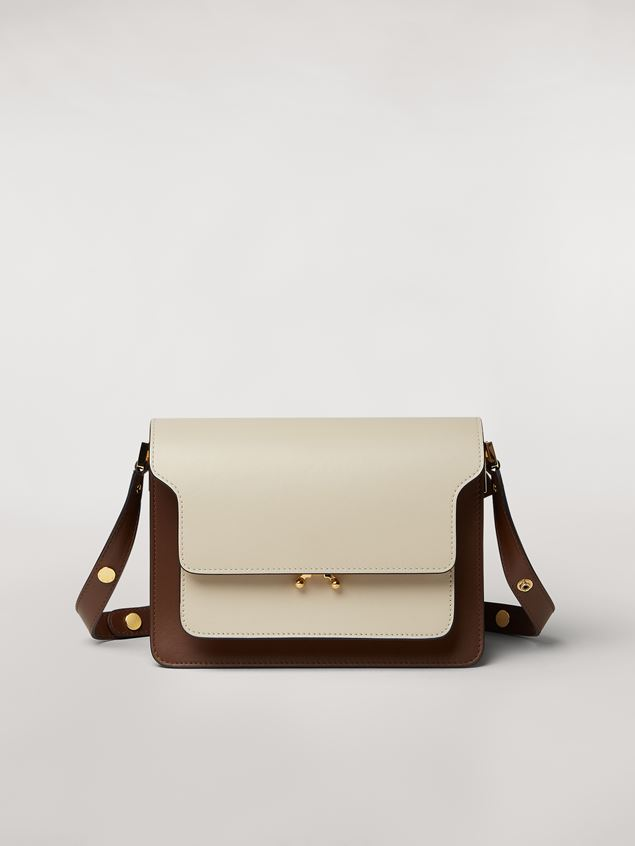 Marni TRUNK bag in three-tone calfskin Woman - 1