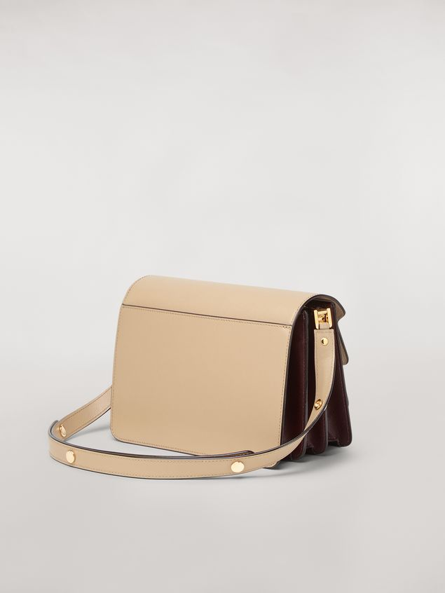 Marni TRUNK bag in three-tone saffiano calfskin Woman - 3