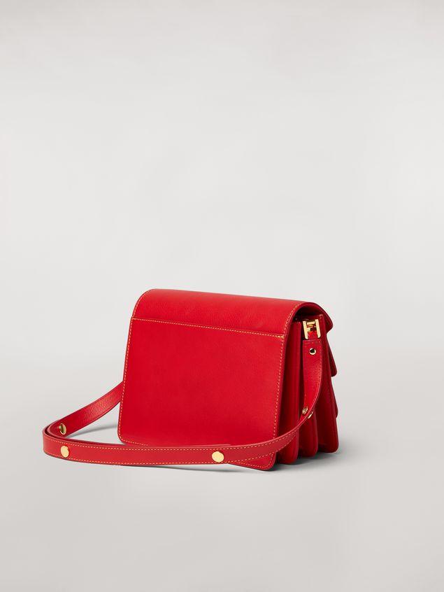 Marni TRUNK bag in mono-colored grained calfskin Woman