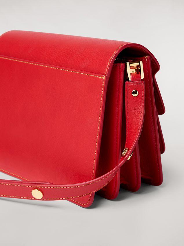 Marni TRUNK bag in mono-colored grained calfskin Woman - 4
