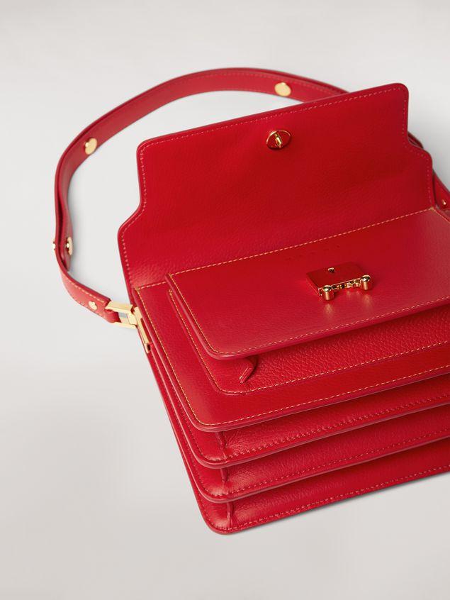 Marni TRUNK bag in mono-colored grained calfskin Woman - 2