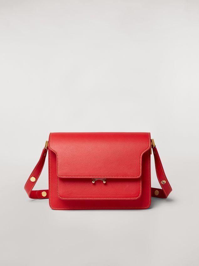 Marni TRUNK bag in mono-colored grained calfskin Woman - 1