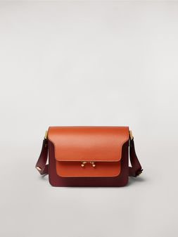 Marni TRUNK minibag in three-tone calfskin  Woman