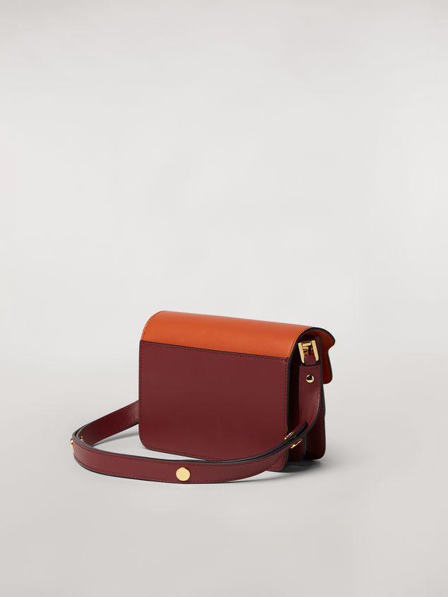 Marni TRUNK mini bag in three-tone calfskin  Woman