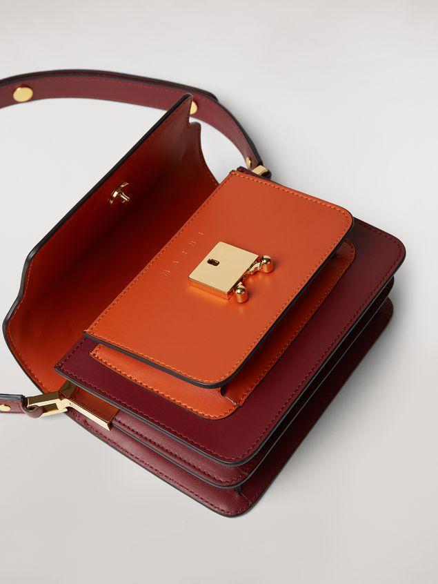Marni TRUNK mini bag in three-tone calfskin  Woman - 5