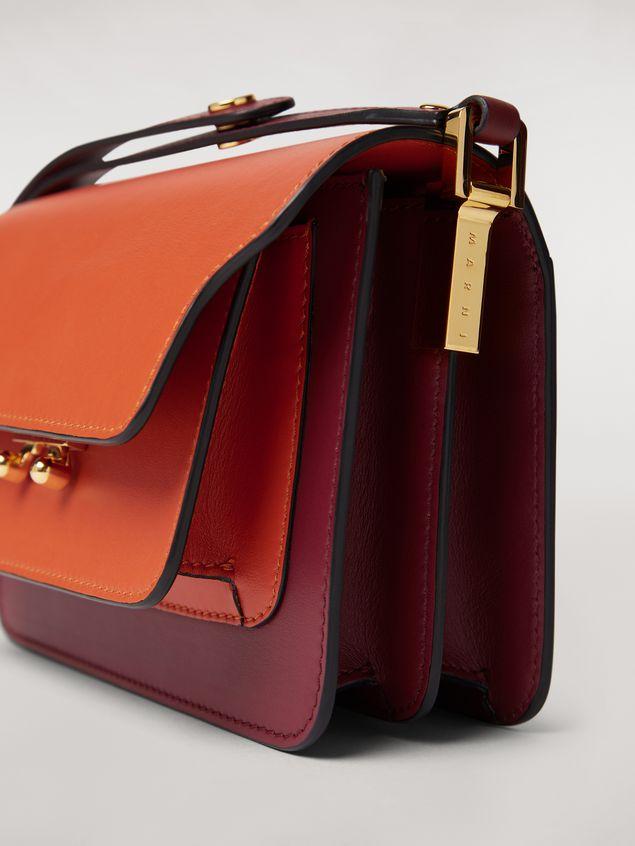 Marni TRUNK mini bag in three-tone calfskin  Woman - 4