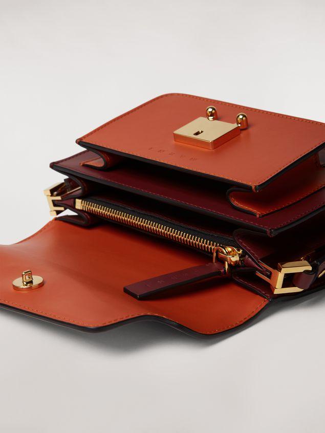 Marni TRUNK mini bag in three-tone calfskin  Woman - 2