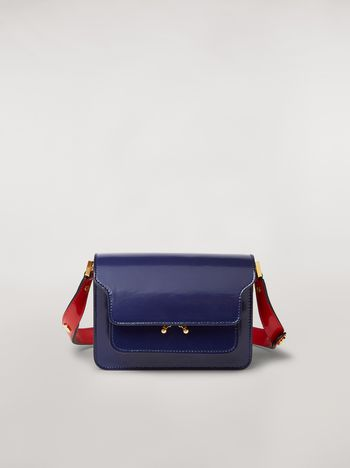 Marni TRUNK minibag in three-tone shiny calfskin  Woman f