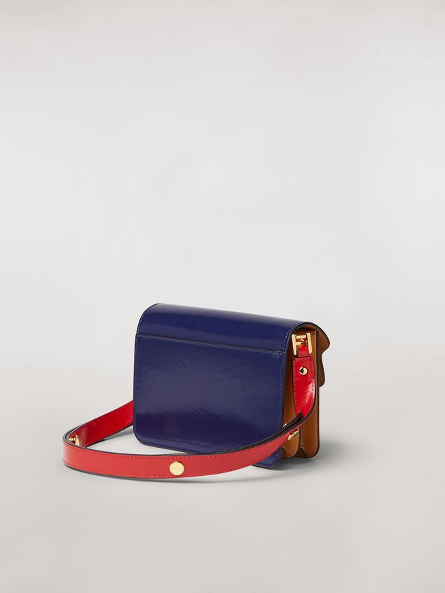 Marni TRUNK mini bag in three-tone shiny calfskin  Woman