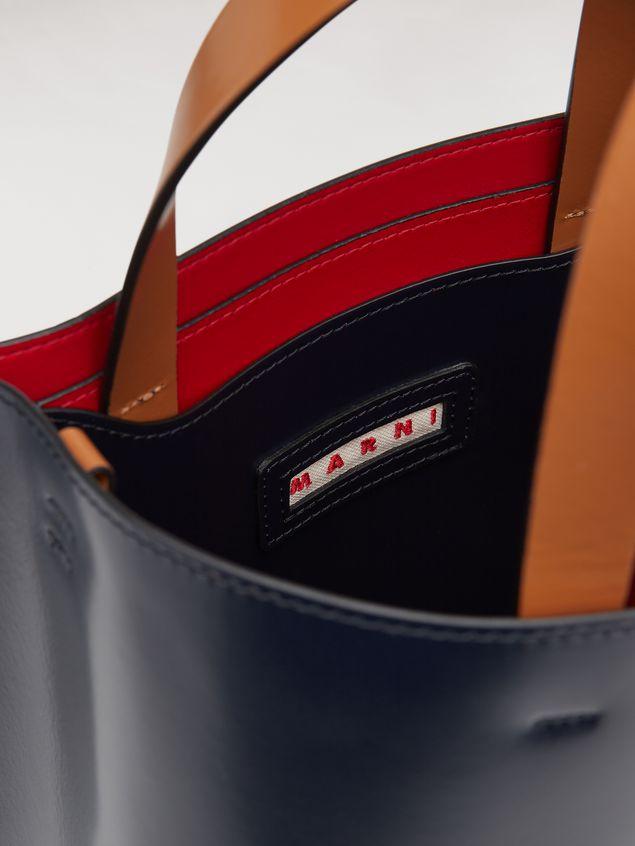 Marni MUSEO bag in calfskin blue Woman - 5