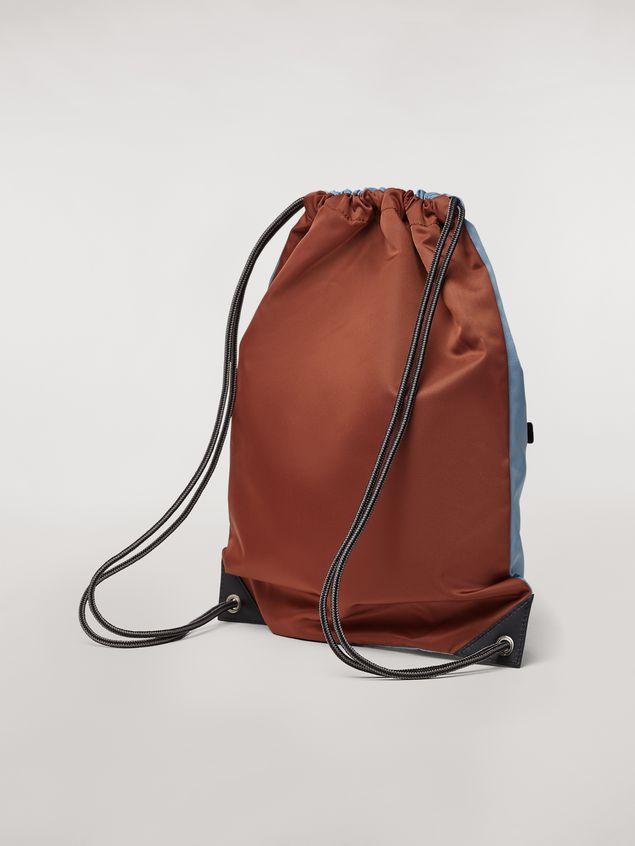 Marni Drawstring backpack in nylon  Man