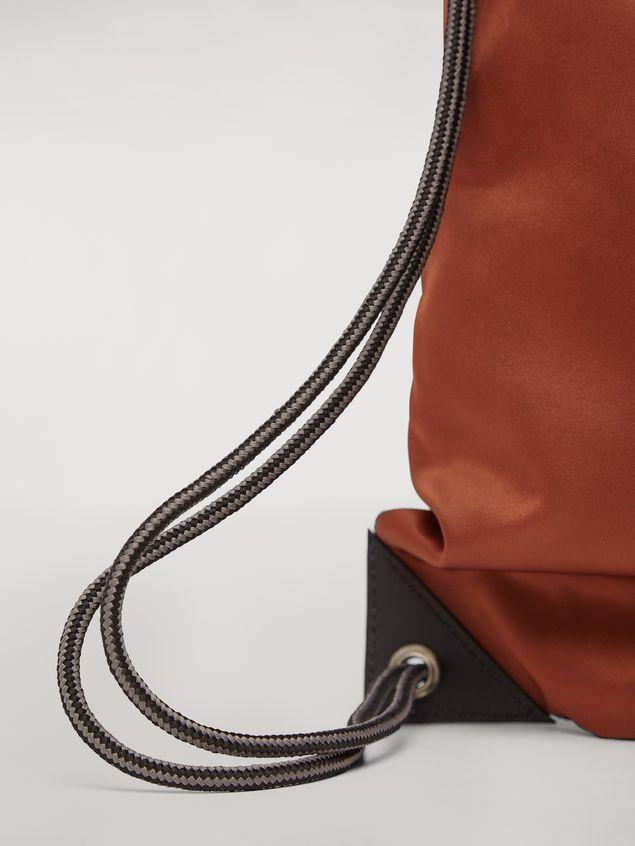 Marni Drawstring backpack in nylon  Man - 4