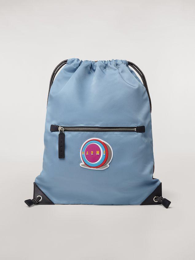 Marni Drawstring backpack in nylon  Man - 1