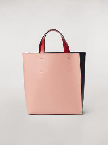 Marni MUSEO bag in calfskin pink Woman
