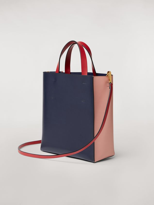 Marni MUSEO bag in calfskin pink Woman - 3