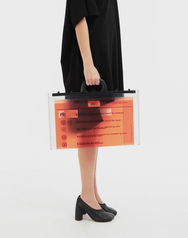 BAGS Document logo bag Orange