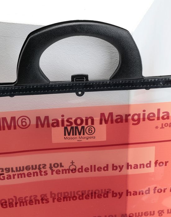 cceb8bc8f2 Sac Porte Documents Logo Femme Maison Margiela | Boutique Maison ...