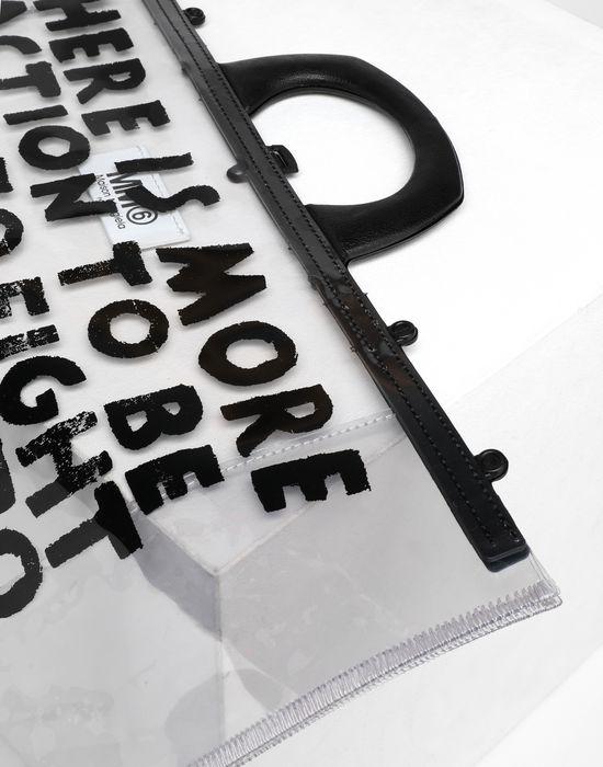 MM6 MAISON MARGIELA Charity AIDS-print PVC tote Tote [*** pickupInStoreShipping_info ***] e