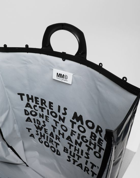MM6 MAISON MARGIELA PVC tote bag Tote [*** pickupInStoreShipping_info ***] d