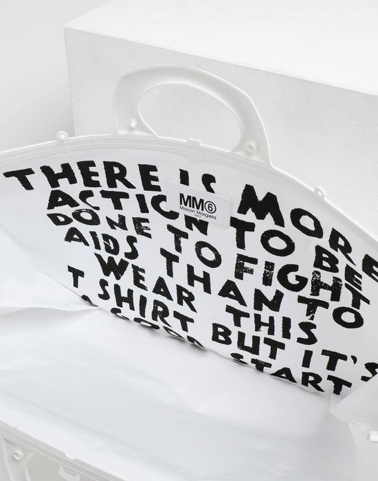 MM6 MAISON MARGIELA PVC tote bag Tote [*** pickupInStoreShipping_info ***] d