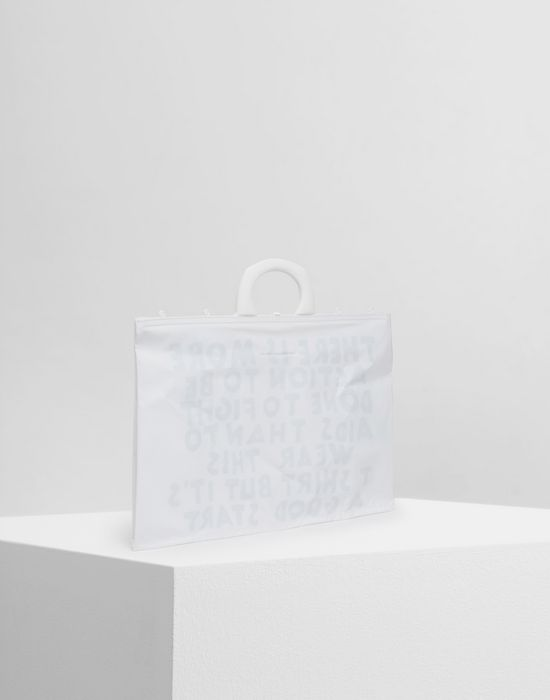 MM6 MAISON MARGIELA PVC tote bag Tote [*** pickupInStoreShipping_info ***] r