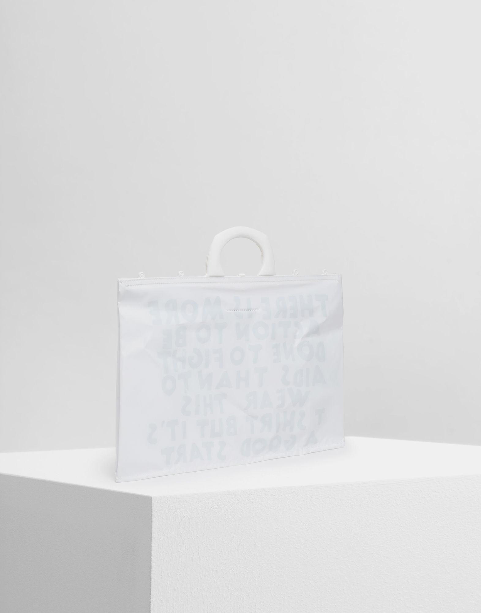 MM6 MAISON MARGIELA PVC tote bag Tote Woman r