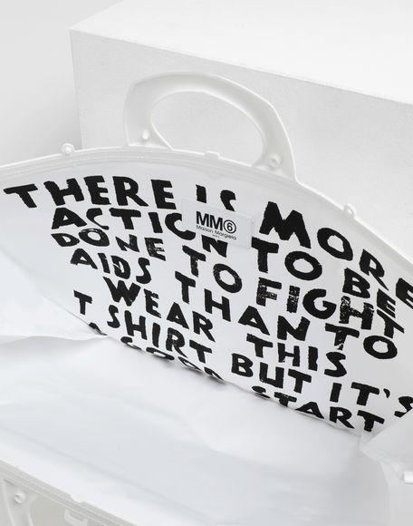 MM6 MAISON MARGIELA PVC tote bag Tote Woman d