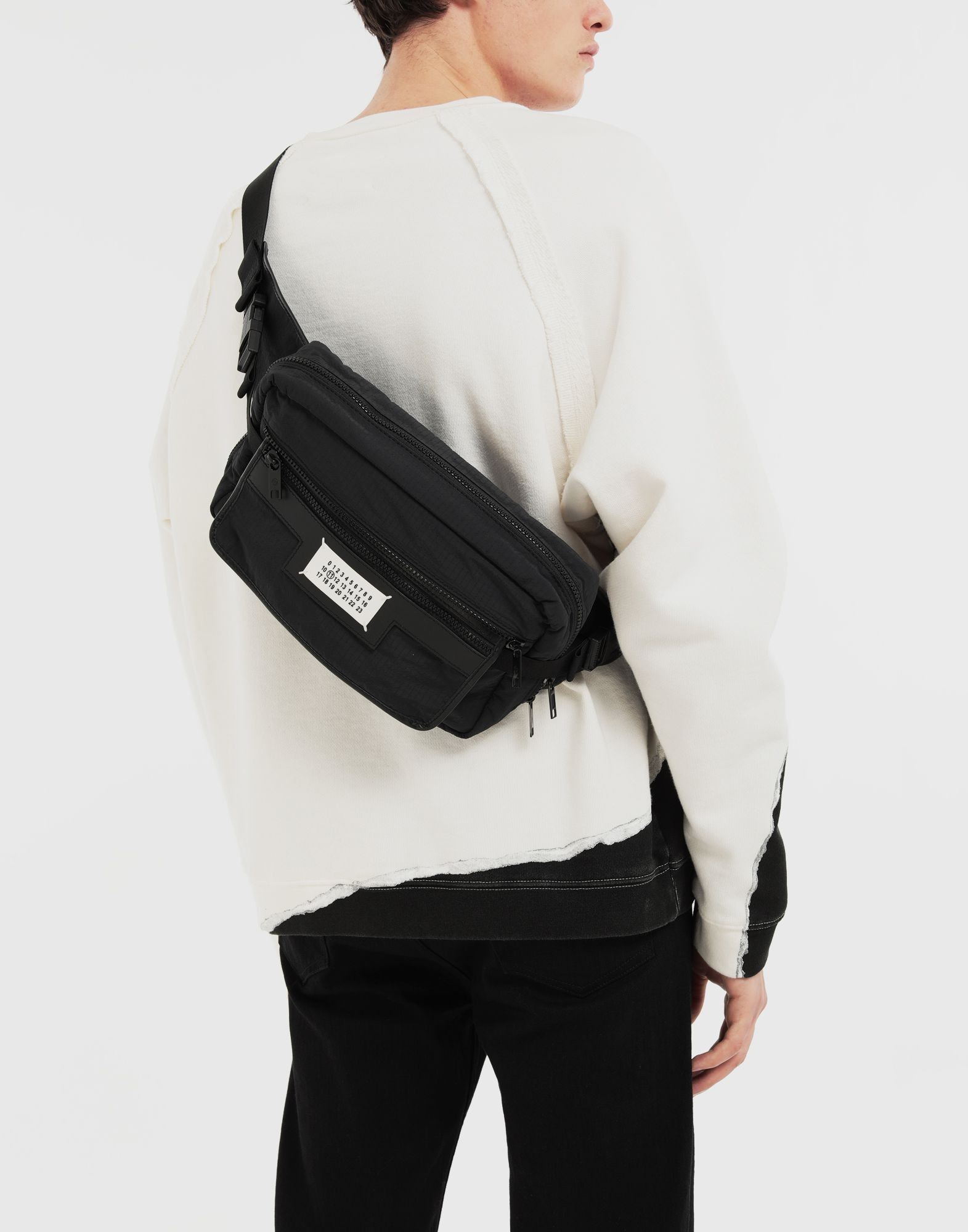 MAISON MARGIELA Logo cross-body bag Fanny pack Man r