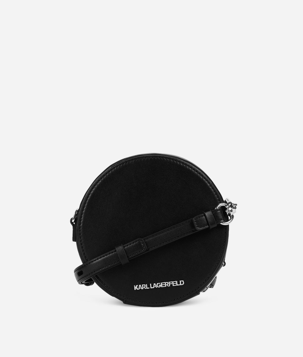 KARL LAGERFELD K/Karlifornia Round Crossbody Bag Crossbody Bag Woman d