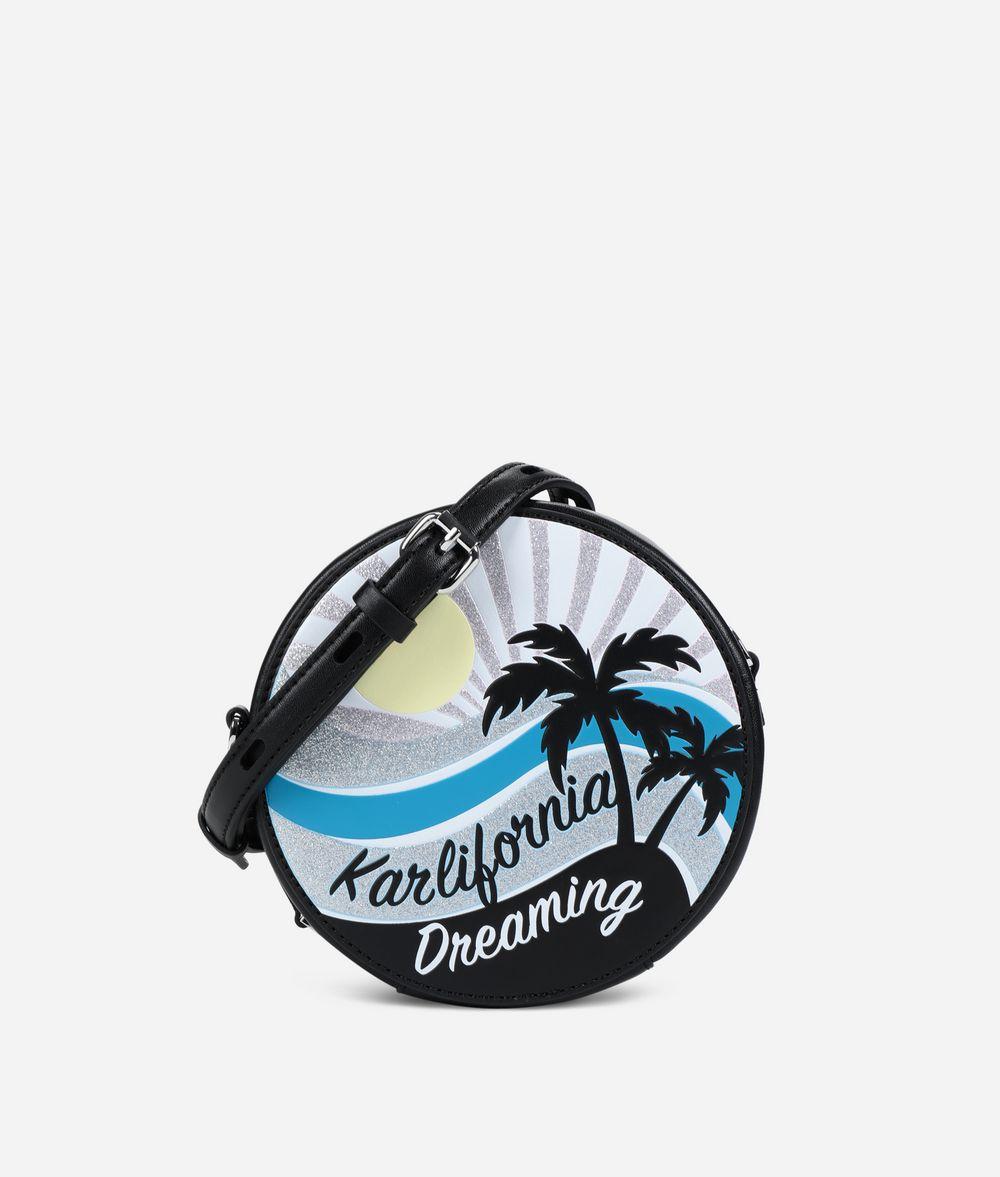 KARL LAGERFELD K/Karlifornia Round Crossbody Bag Crossbody Bag Woman f