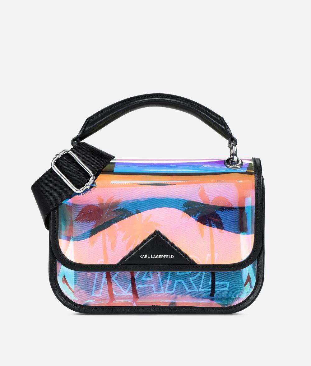 KARL LAGERFELD K/Karlifornia 2-in-1 Shoulder Bag Handbag Woman f