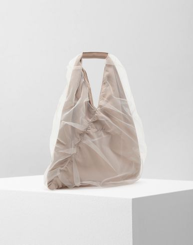 BAGS Japanese small tulle bag Beige