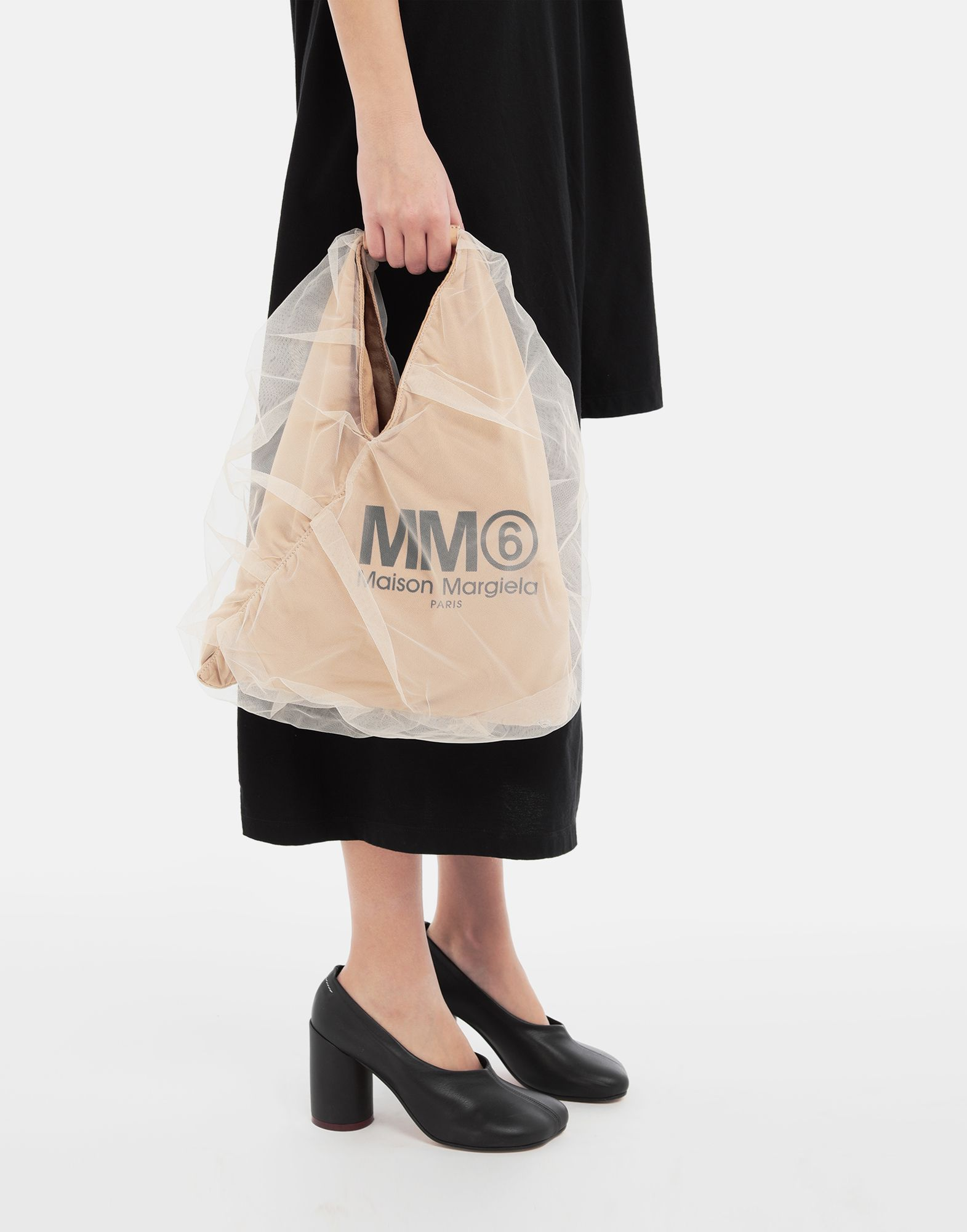 MM6 MAISON MARGIELA Japanese small tulle bag Handbag Woman r