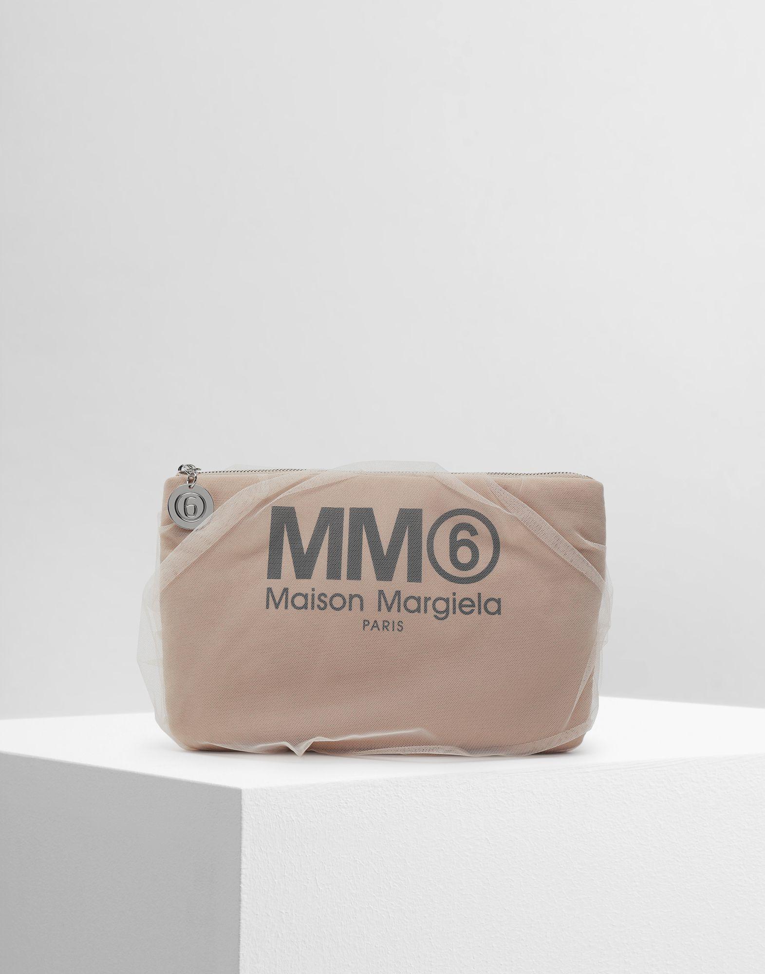 MM6 MAISON MARGIELA Tulle pochette Clutch Woman f