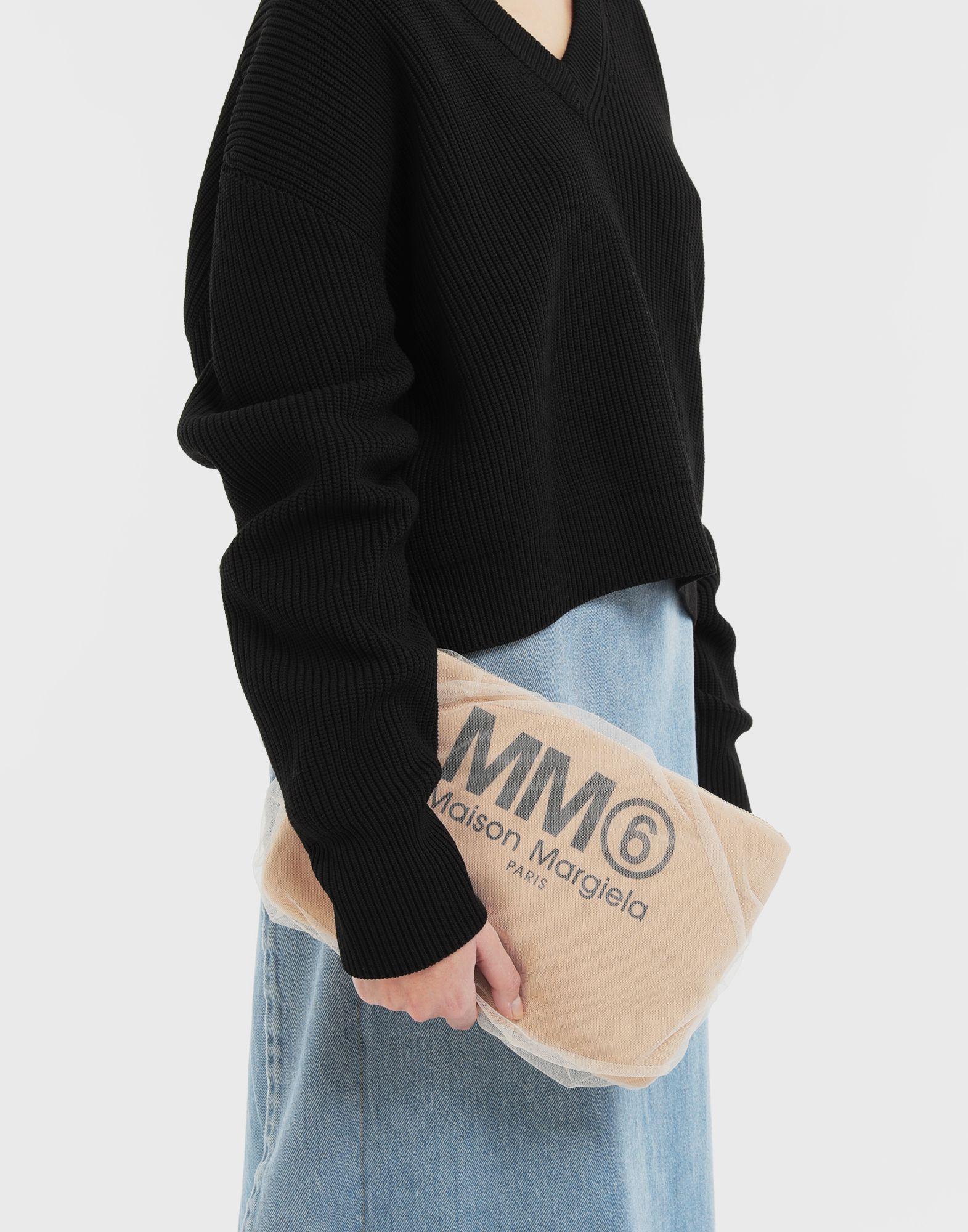 MM6 MAISON MARGIELA Tulle pochette Clutch Woman r