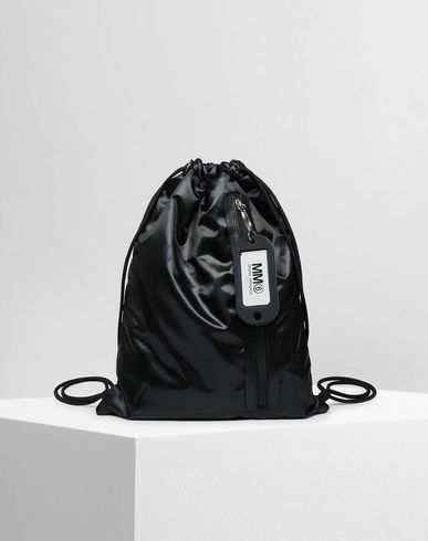 BAGS Drawstring backpack Black