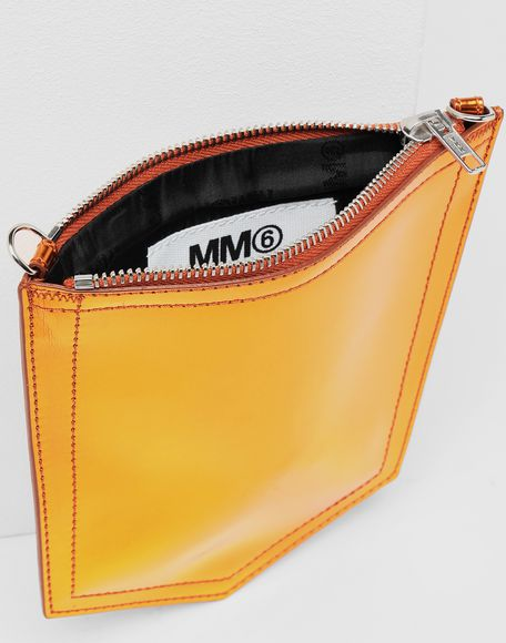 MM6 MAISON MARGIELA Metallic pocket bag Shoulder bag Woman a