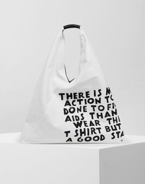 MM6 MAISON MARGIELA Charity AIDS-print Japanese bag Handbag [*** pickupInStoreShipping_info ***] f