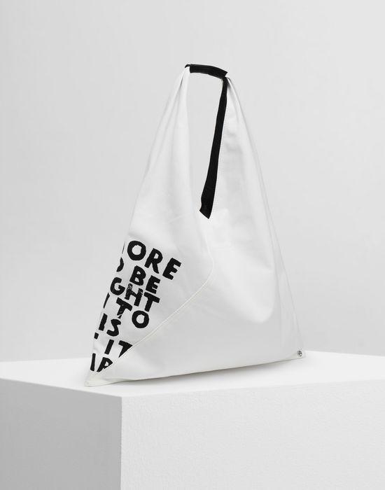 MM6 MAISON MARGIELA Charity AIDS-print Japanese bag Handbag [*** pickupInStoreShipping_info ***] r