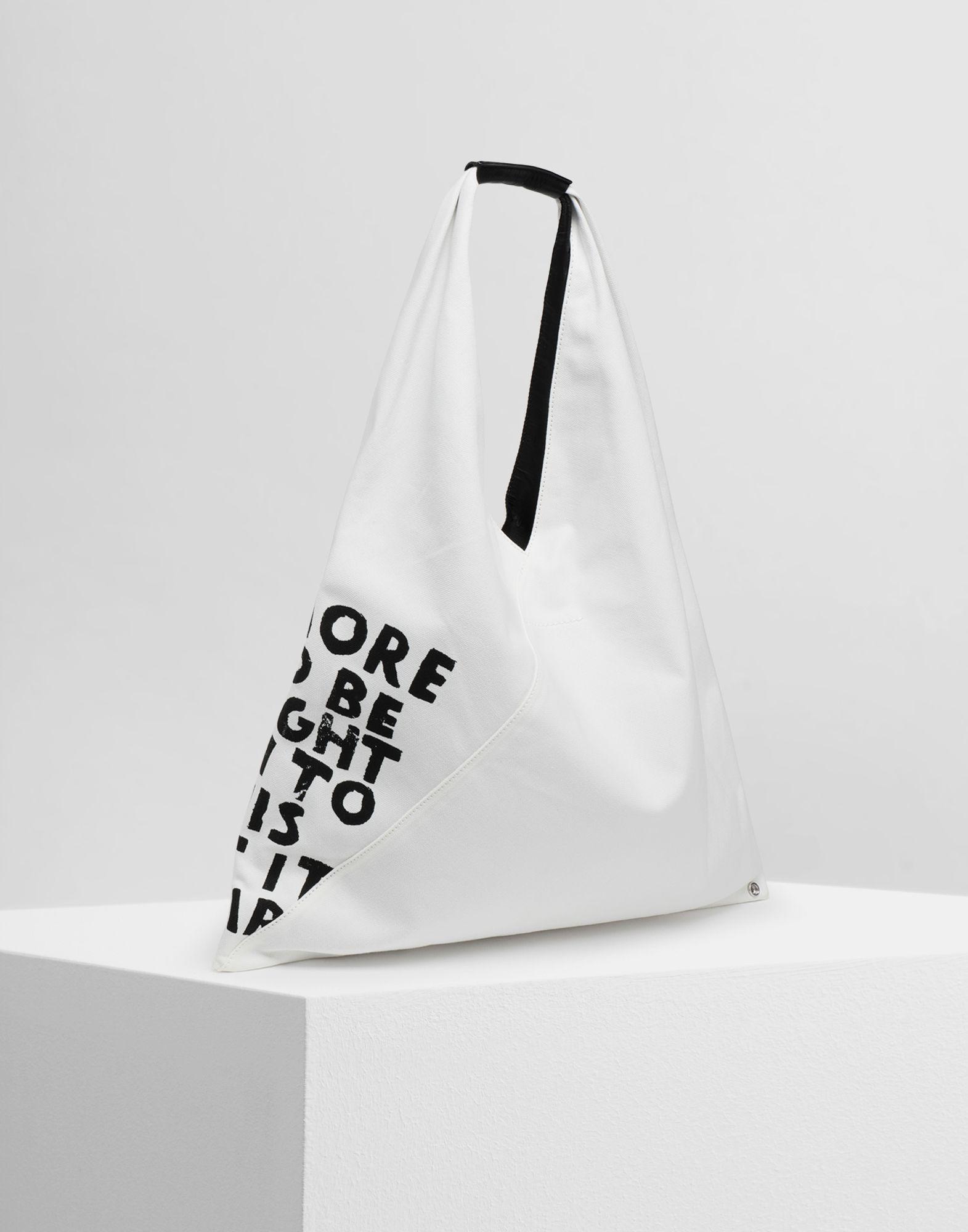 MM6 MAISON MARGIELA Charity AIDS-print Japanese bag Handbag Woman r