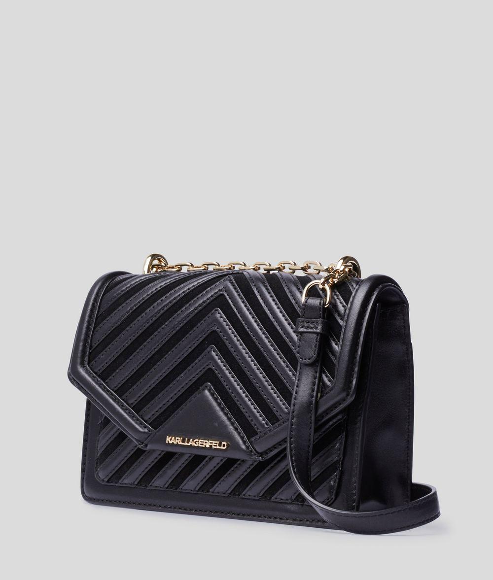 KARL LAGERFELD K/Klassik Quilted Shoulder Bag Crossbody Bag Woman d