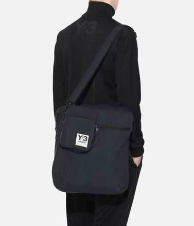 Y-3 ショルダーバッグ E Y-3 Packable Airliner Bag r