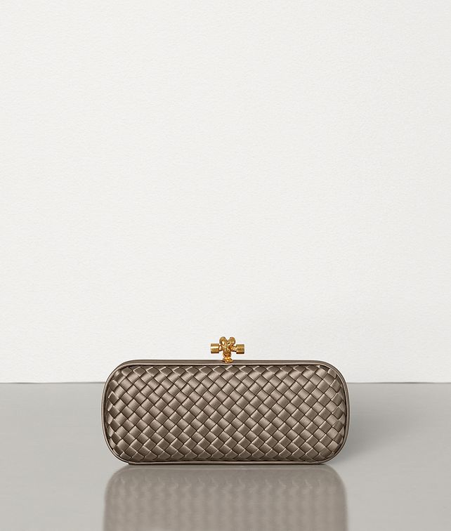 BOTTEGA VENETA STRETCH KNOT IN INTRECCIATO IMPERO Clutch Woman fp