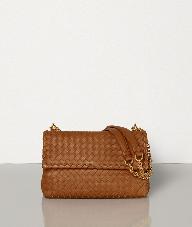 BOTTEGA VENETA SMALL OLIMPIA BAG IN INTRECCIATO NAPPA Shoulder Bag [*** pickupInStoreShipping_info ***] fp