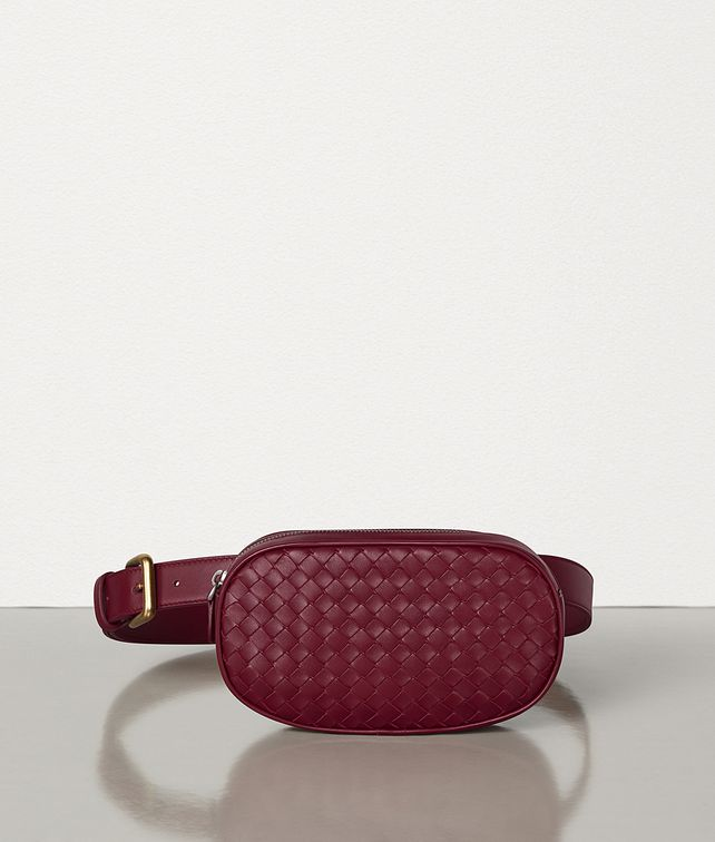 BOTTEGA VENETA BELT BAG IN INTRECCIATO NAPPA Crossbody and Belt Bags Woman fp