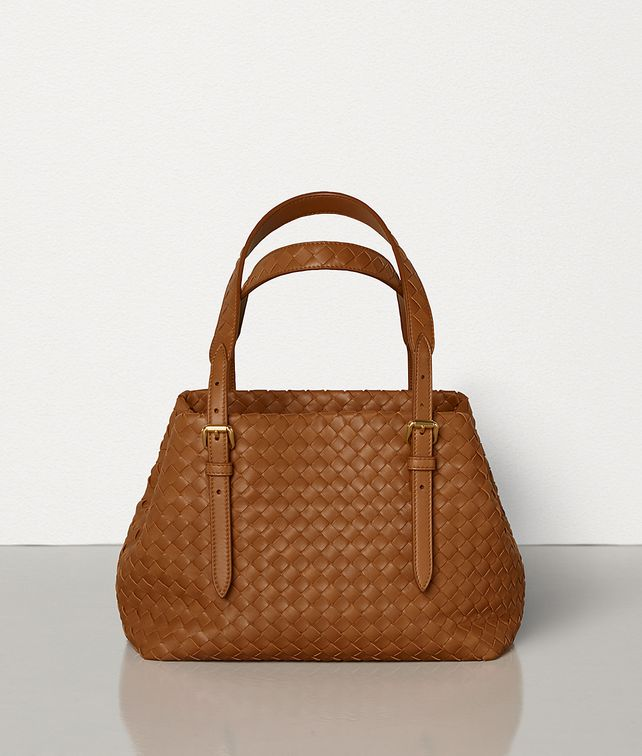BOTTEGA VENETA MINI CESTA BAG IN INTRECCIATO NAPPA Tote Bag [*** pickupInStoreShipping_info ***] fp