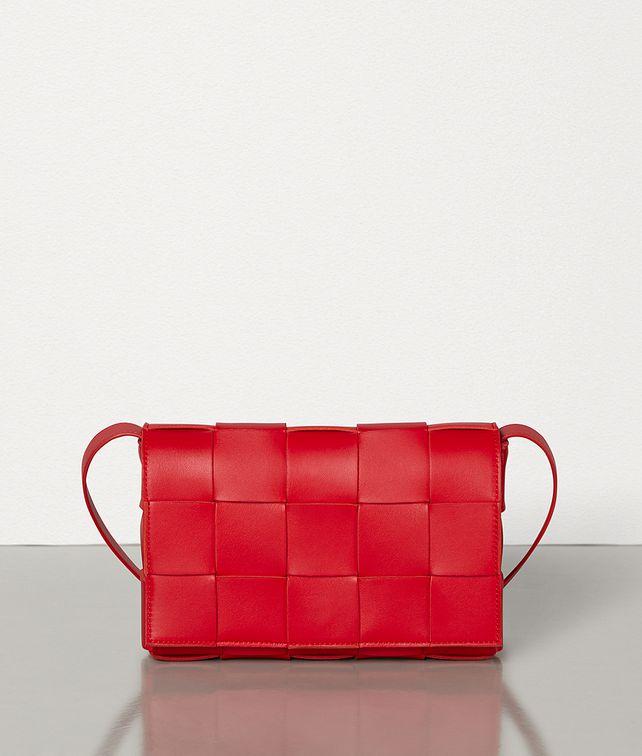 BOTTEGA VENETA CASSETTE BAG IN MAXI INTRECCIO Crossbody and Belt Bags Woman fp