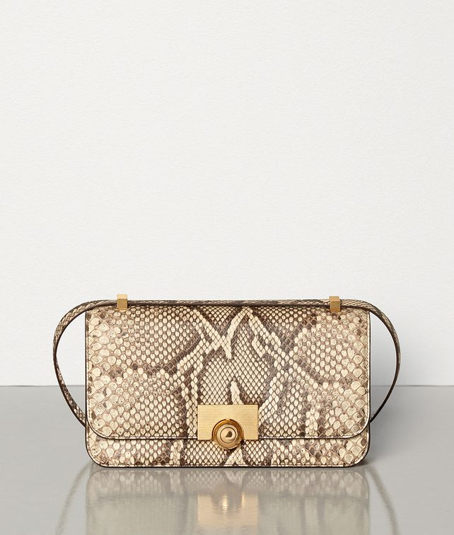 BOTTEGA VENETA BV CLASSIC BAG IN PYTHON LEATHER Shoulder Bag Woman fp