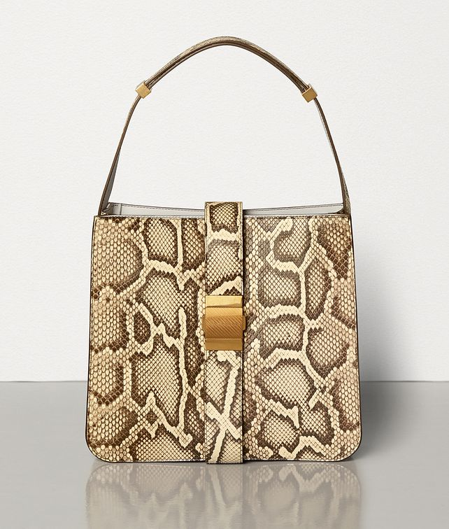 BOTTEGA VENETA MARIE BAG IN PYTHON Shoulder Bag Woman fp