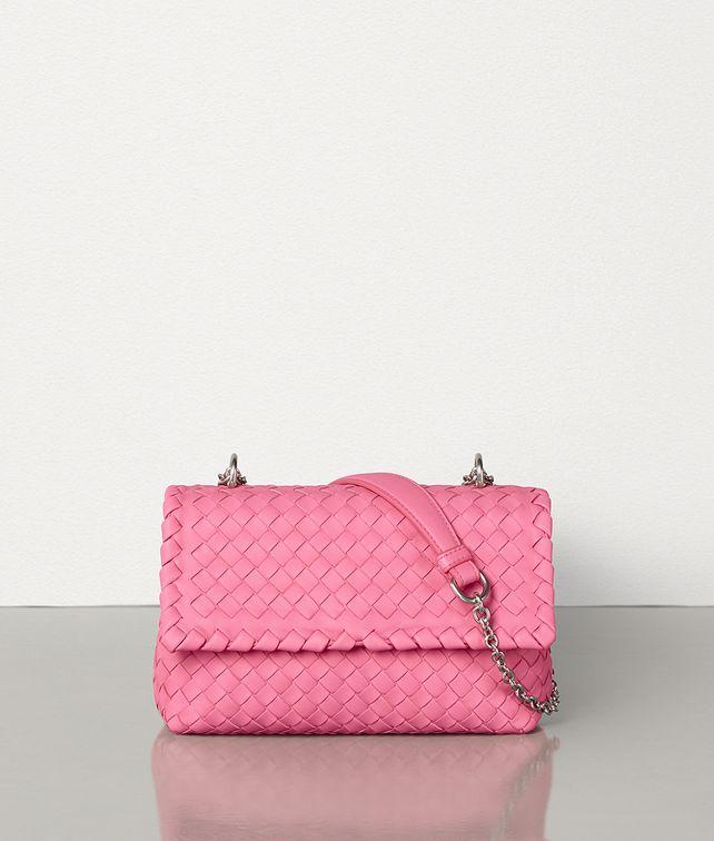 BOTTEGA VENETA BABY OLIMPIA BAG IN INTRECCIATO NAPPA Shoulder Bag Woman fp